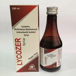 Lycopene Multivitamin Antioxidant and Sorbitol Syrup
