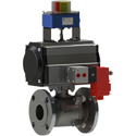 Air Actuated Ball Valve