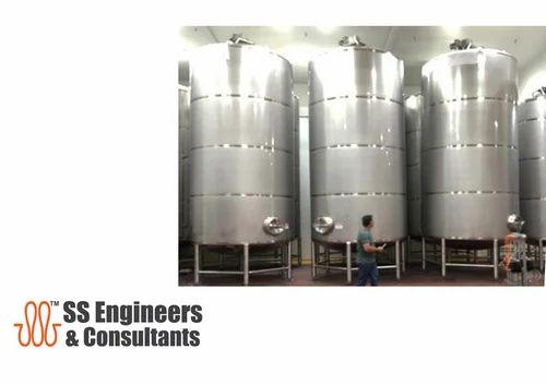 Dairy Plant And Machinery Milk Dairy Storage Tanks