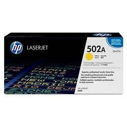 HP Q6472A 502A Yellow Laser Toner Printer Cartridge
