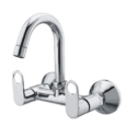 Silver Stainless Steel Sink Mixer