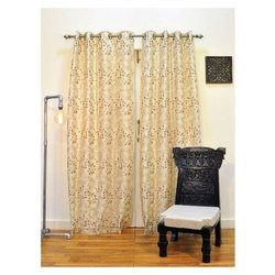 Ariana ARC 2 IN 1 Gold Door Curtain