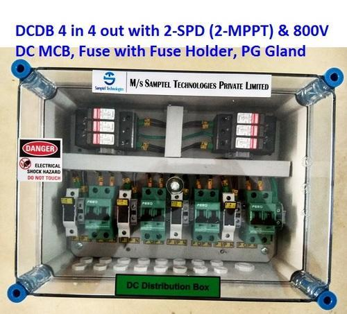 dcdb 4 in 4 out (15 20 kw), solar, rs 8400 piece, samptel energy fuse box vs breaker box dcdb 4 in 4 out (15 20 kw), solar