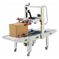 Automatic Carton Sealing Strapping Packaging Machine