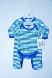02 Pack Sleepsuit & Bodysuit With Hanger