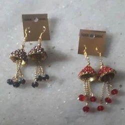 Sunrise Handicraft Glass Beads Earrings