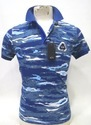 Blue Polo Mens Collar T-shirt, Packaging Type: Packet