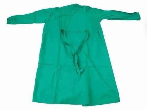 Green Reusable Surgical Gowns, For Hospital, Rs 250 /piece D & U ...