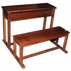 Wooden School Benche