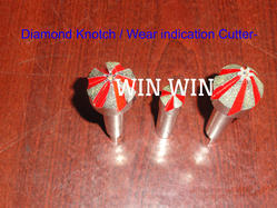 Diamond Wear Indication Cutter