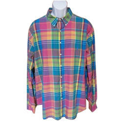 Men Multicolor Mens Designer Check Shirt