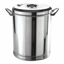Stainless Steel Kitchen Container, Material Grade: Food Grade Steel