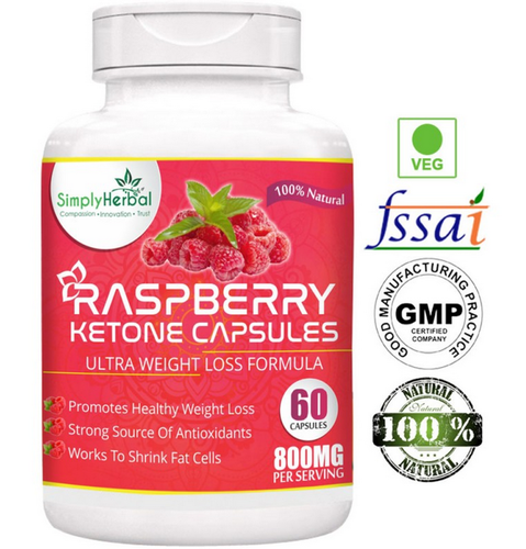 Capsule Simply Herbal Raspberry Ketone S, 60 Capsule