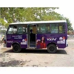 Offline Vinyl Bus Advertising Service, in Local, 3-4m