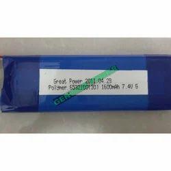Lithium Polymer Battery 7.4v 1600mah