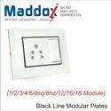 Rectangular Modular Wall Plates With Black Line