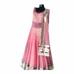 Sleeveless Party Wear Anarkali Suits