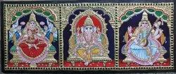 3panel Tanjore Painting