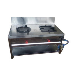 SS 2 Burner Commercial Gas Stove