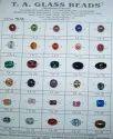 Destash Glass Beads Semi Pipe Shape