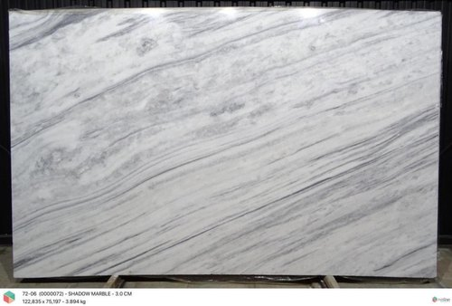 Shadow White Grey Marble Dolomite