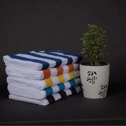 Cotton Plain Multi Color Cabana Towel, 350 GSM, Size: 73 Cms X 150 Cms
