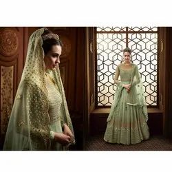 Eid Offer Indian Summer Wear Heavy Embroidery Suit Semi Stitched Salwar Kameez