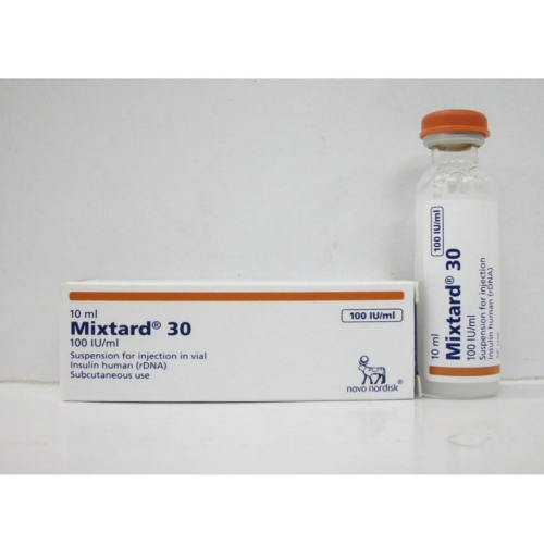 Mixtard 30HM Penfill Injection, for Clinical, Packaging Size: 5 X 3 Ml, Rs  1232 /5 cart | ID: 19319280091