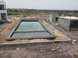 Onsite Swimming Pool Construction