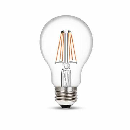 Warm White 6W / 8W Wipro Garnet E27 LED Filament Bulb