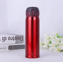 Multy Colour Stainless Steel Bison Thermos Water Bottle, Size: Nil, Capacity: 500ml