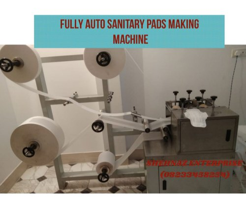 Chinese Model Automatic Sanitary Napkin Machine