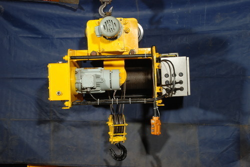 Wire Rope Hoist - Electric Wire Rope Hoist Manufacturer from Alwar