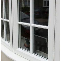 Casement Modern UPVC Designer Window, Glass Thickness: 2-3 Mm