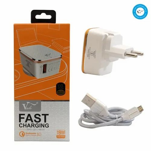 Vali Fast Charging Travel USB Charger V2204A With Box Packing HE2728/V2204A
