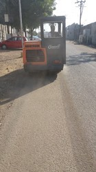Road Sweeper for Cement Plant