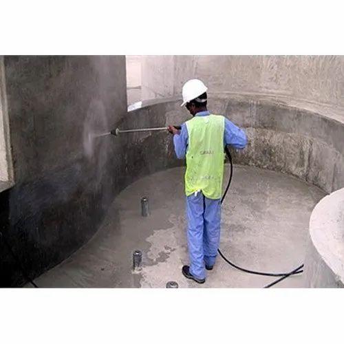 Crystalline Waterproofing Water Tank & Basement Service In