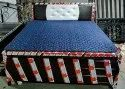 M R Steel Wrought Iron Hydraulic Double Bed