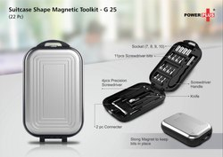 Suitcase Shape Magnetic Toolkit (22 pc)