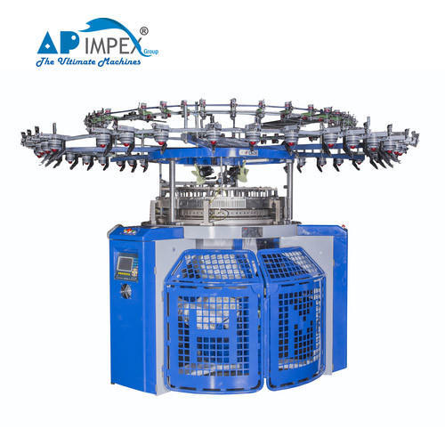 AP Impex 3.7-7.5 HP Computerized Jacquard Knitting Machine for Textile Industry