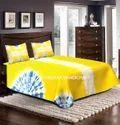 Indian Tie Dye Mandala Print Bed Cover Throw