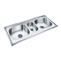 Fancy Kitchen Sink, SS Kitchen Sink, स्टेनलेस स्टील ...