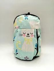 Multicolor Polyester Printed Quecha Lunch Bag (small)