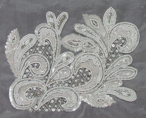 Seed Bead Embroidery Work Beaded Embroidery Services In Lower Parel