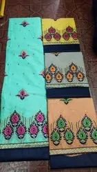 Embroidery Work Unstitched Suit