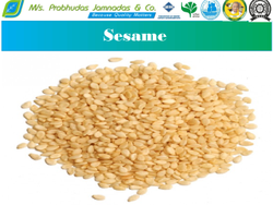 White Hulled Sesame Seeds, For Cooking, Packaging Size: 25