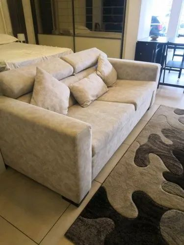 18 inches Designer Three Seater Sofa Cum Bed