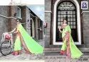 Rachna Georgette Sikha Catalog Saree Set For Woman 4