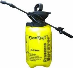Kisankraft Manual 3 Ltr Pressure Sprayer KK-PS-3000