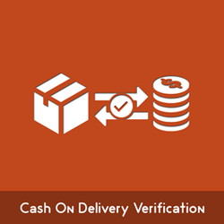 Magento Cash On Delivery Verification